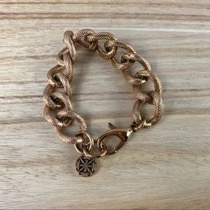 VGUC Rustic Cuff Shelle in Rose Gold